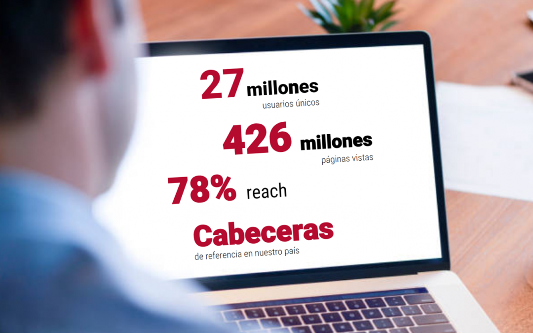 BLUEMEDIA SIGUE CRECIENDO EN AUDIENCIA DIGITAL